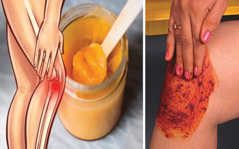 Recette au piment et huile d'olive pour les genoux et les articulations