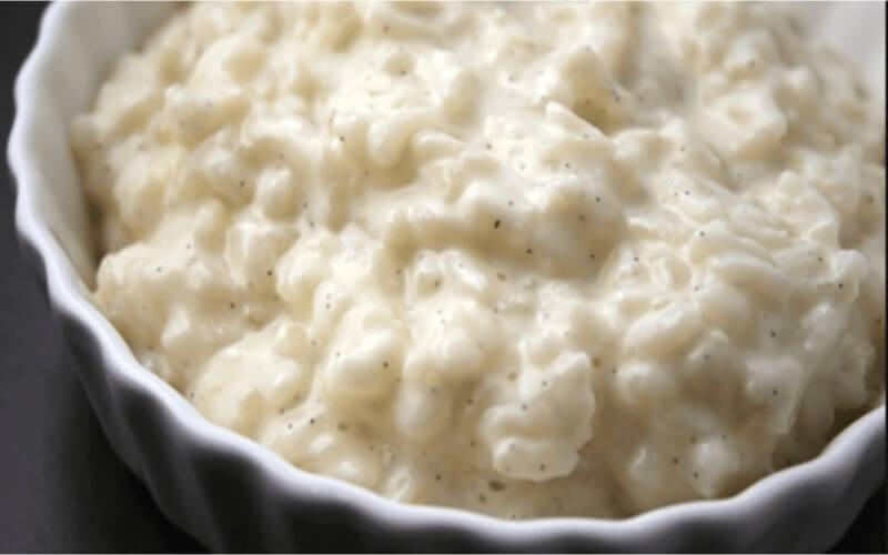 Riz au lait dessert facile et crémeux