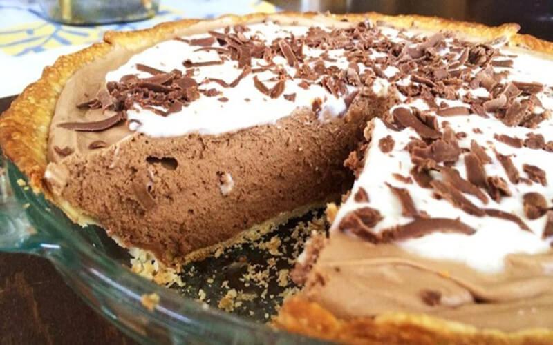 Tarte mousse au chocolat hyper gourmande
