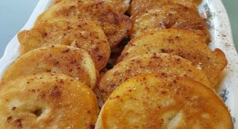 Beignets aux pommes à l'alsacienne( Les Apfelkiechle)