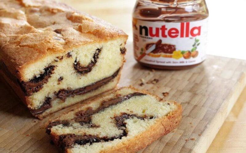 Cake au Nutella dessert gourmand