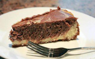 Cheesecake au chocolat facile et rapide à réaliser