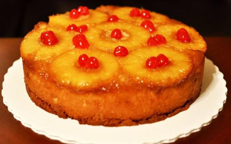 Gâteau Renversé à l'Ananas très simple a réaliser
