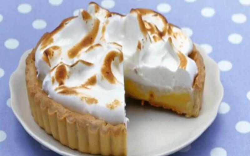 Gâteau au citron meringué texture très tendre