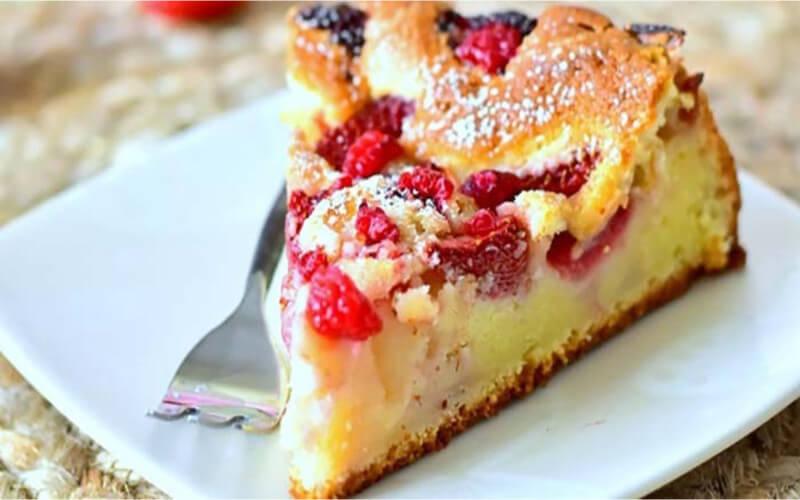 Gâteau aux Fraises et au Yaourt grec très facile