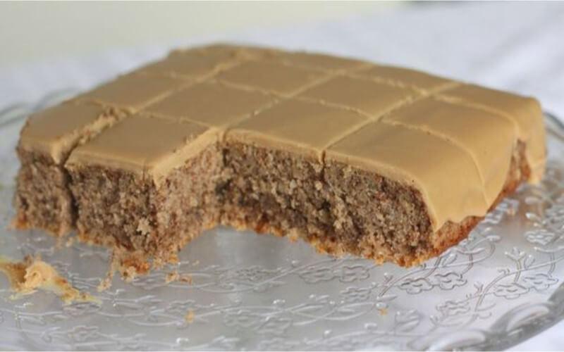 Gâteau aux noix de pécan et café (facile et rapide)