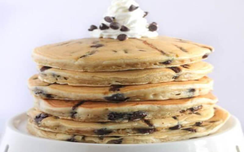 Pancakes ultra moelleux aux pépites de chocolat