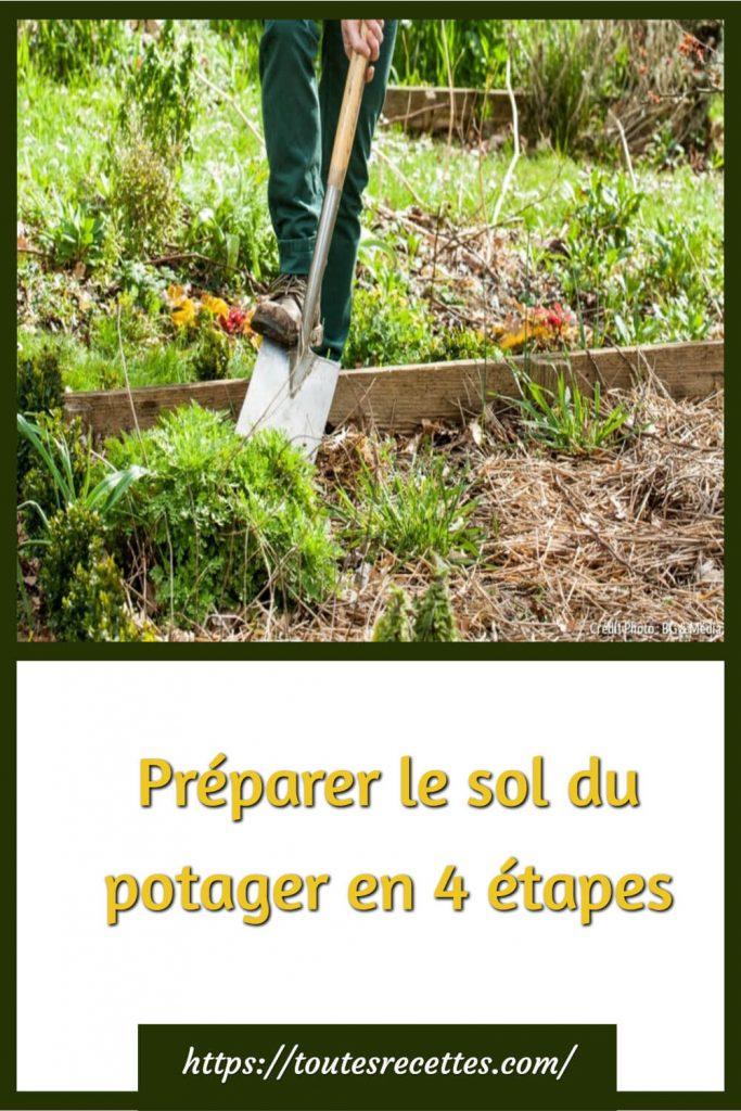 Préparer le sol du potager en 4 étapes