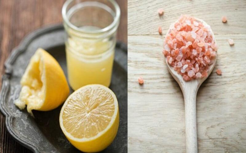 Recette au citron et au sel pour stopper immédiatement la migraine
