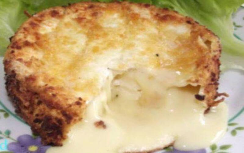 Camembert rôti cœur fondant et crémeux au four