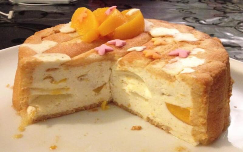Charlotte aux Abricots, vanille et zeste de citron