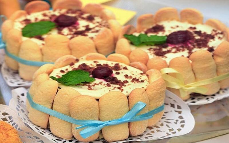 Charlotte façon tiramisu idée dessert