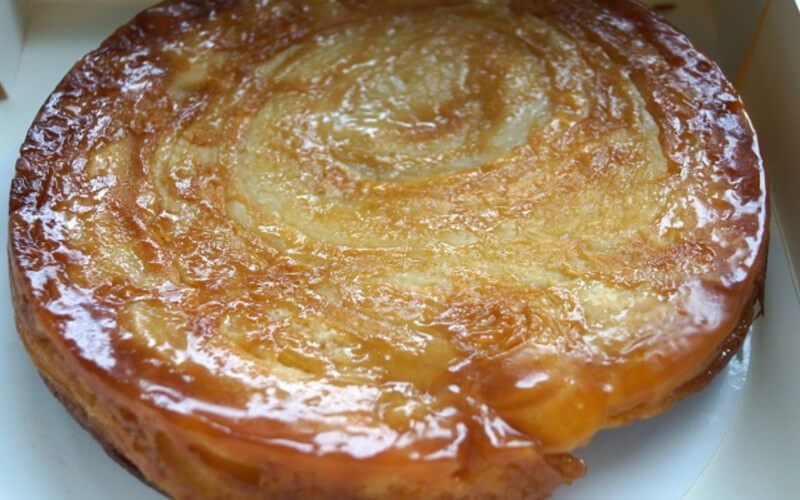 Gâteau au beurre de Bretagne Kouign Amann