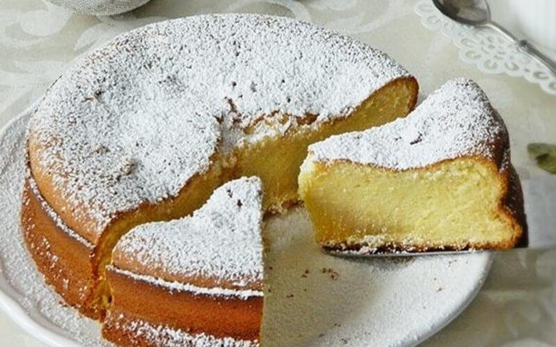 Gâteau au lait concentré sucré dessert gourmand