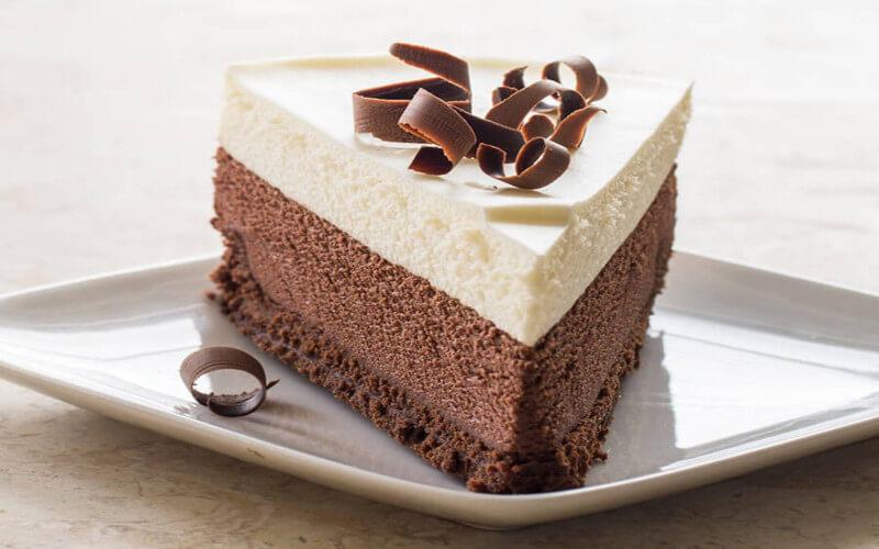 Gâteau aux 3 chocolats hyper gourmand