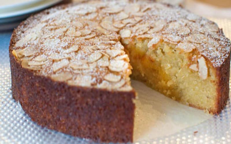 Gâteau aux amandes et à la noix de coco