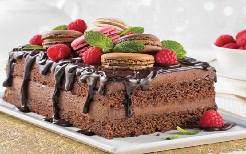 Gâteau mousse au chocolat très gourmand