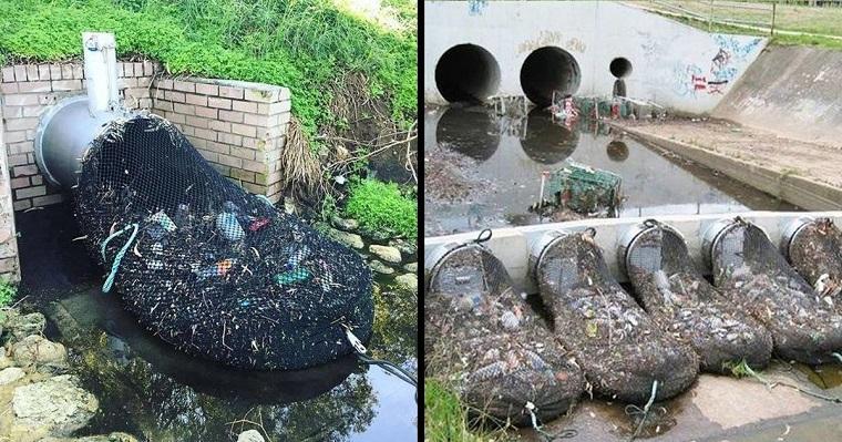 L'Australie a découvert un moyen ingénieux de supprimer la pollution plastique de ses cours d'eau