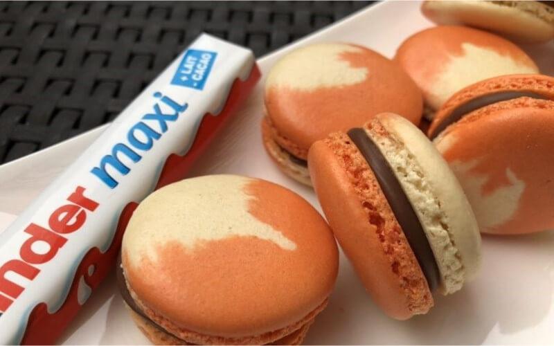 Macarons aux Kinder Maxi très délicieux