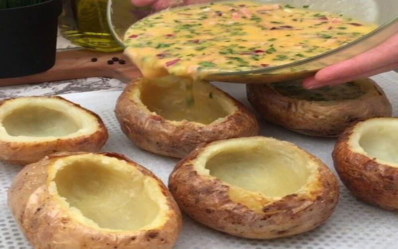 Patate omelette simple à préparer et pas chère