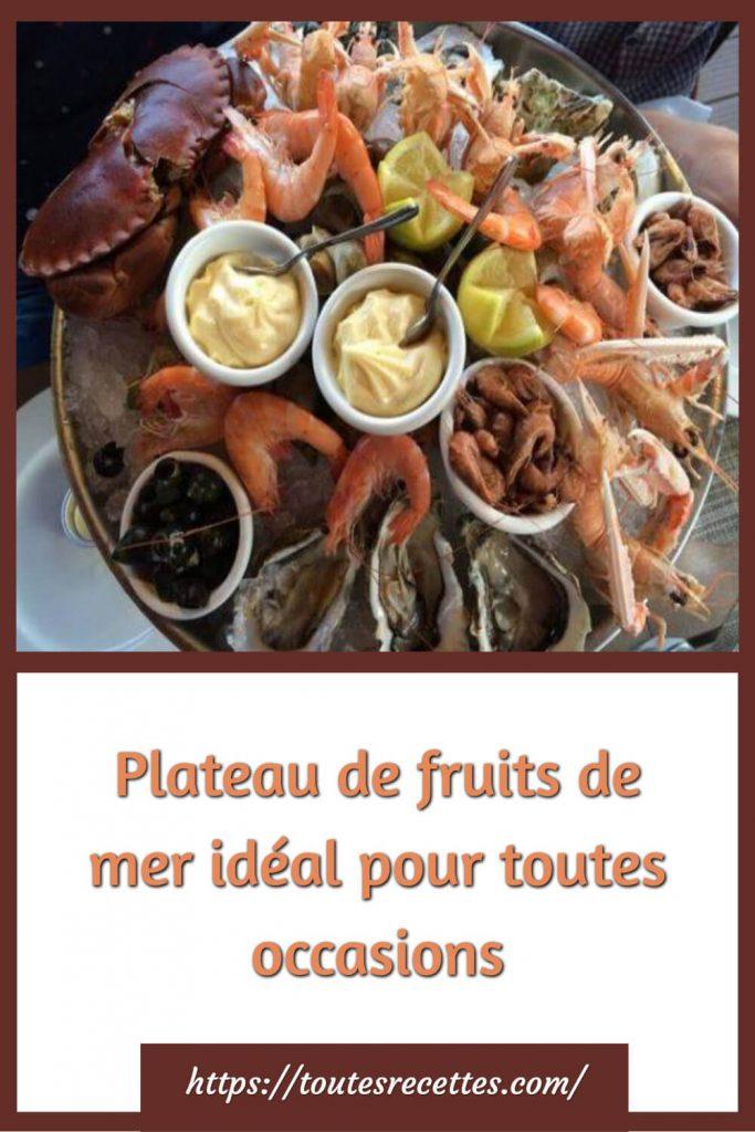 Comment préparer le Plateau de fruits de mer