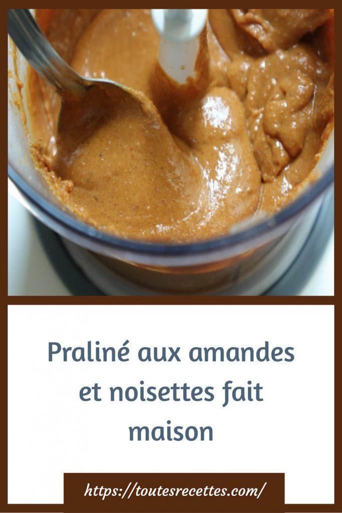 Comment préparer le Praliné aux amandes et noisettes fait maison