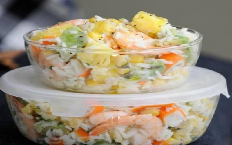Salade hawaïenne entrée simple et originale