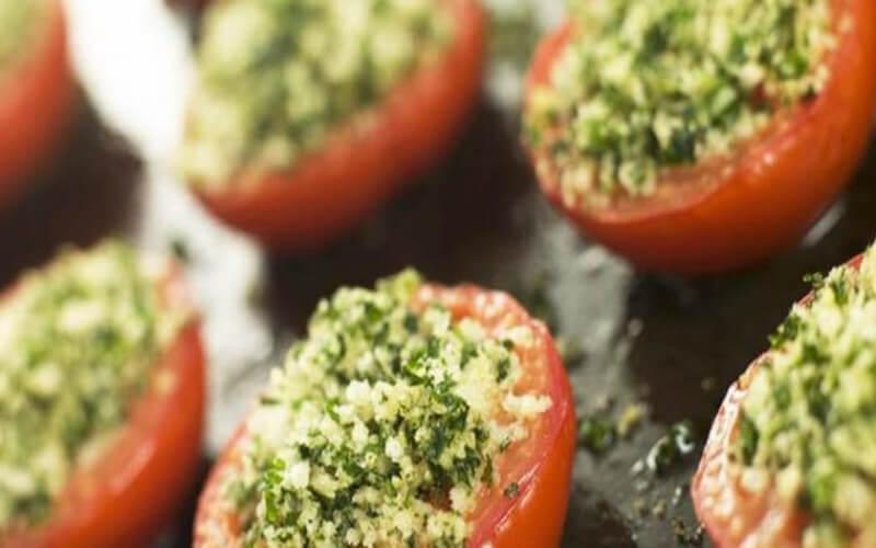 Tomates à l'ail et au Persil à la provençale