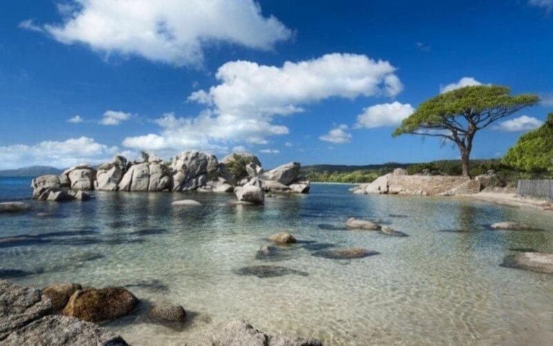 C'est officiel la plus belle plage de France se trouve en Corse
