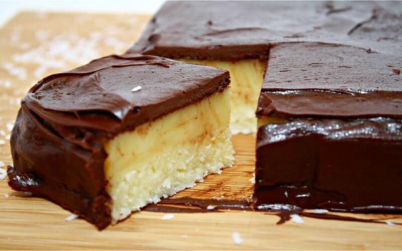Gâteau à la noix de coco et lait concentré sucré
