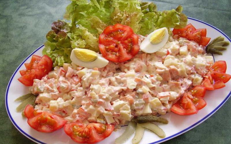 La fameuse Salade Piémontaise fait maison