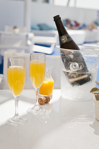 5 Idées de cocktails au champagne: Le Mimosa