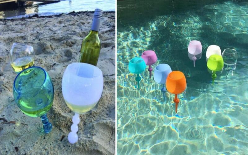 Les verres à vin flottants sont tout ce dont vous avez besoin cette saison estivale