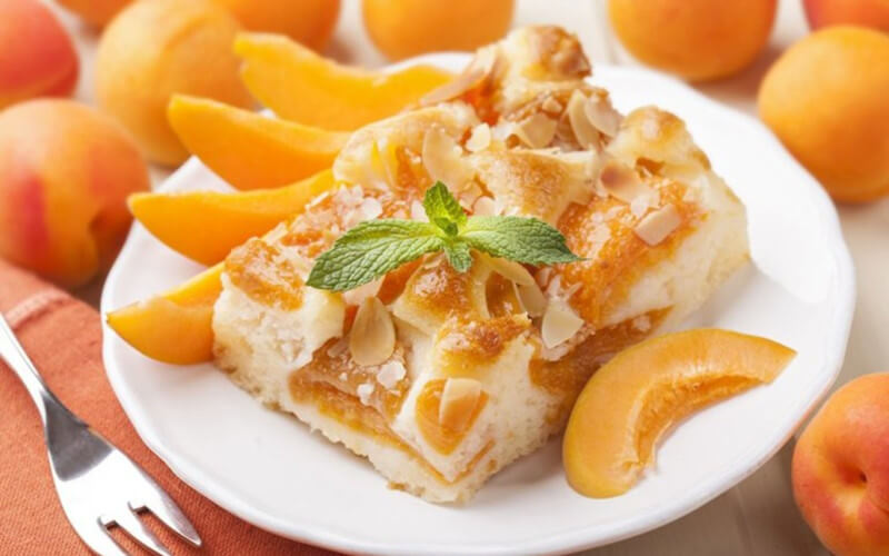 Tarte amandine aux abricots et poudre d'amandes