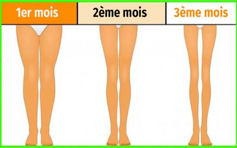 3 minutes avant de dormir quelques exercices faciles pour amincir vos jambes