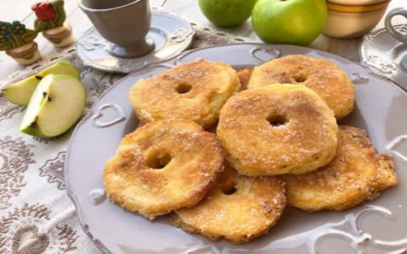 Beignets aux pommes de Cyril Lignac