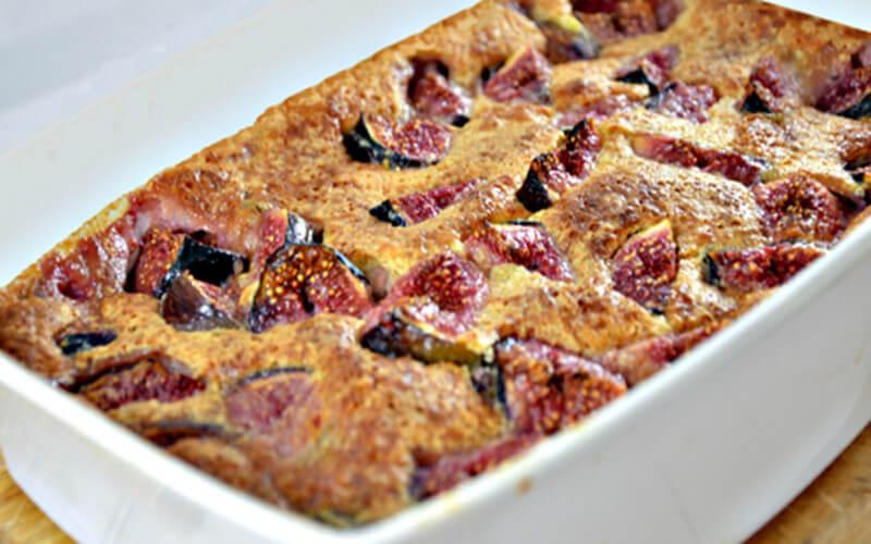 Clafoutis aux Figues dessert original