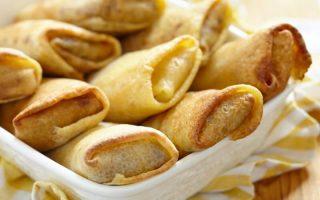 Crêpes farcies au jambon et au poireau à la Béchamel