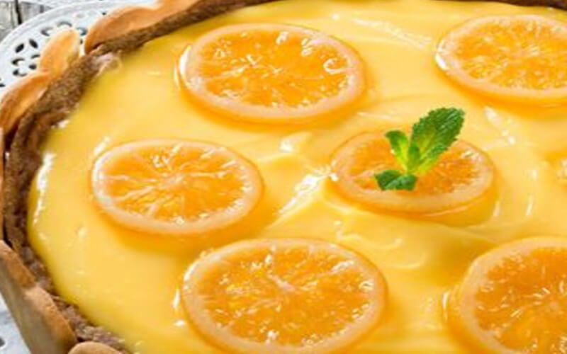 Flan pâtissier au citron facile et rapide à préparer