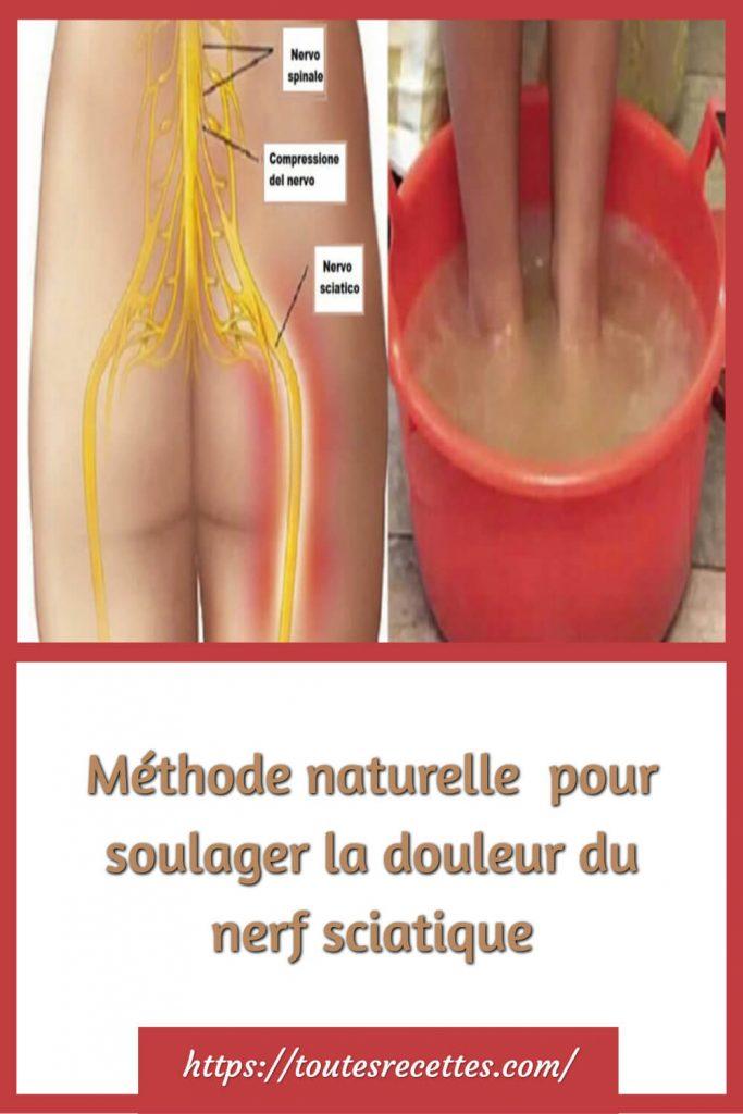 Comment effectuer le traitement pour soulager la douleur du nerf sciatique