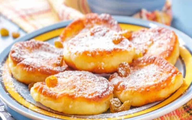 Pancakes au Yaourt sans beurre sans lait