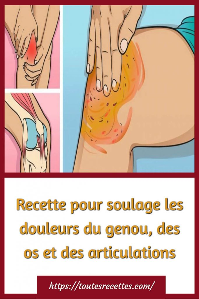 Recette de vinaigre et de poivre soulage les douleurs du genou