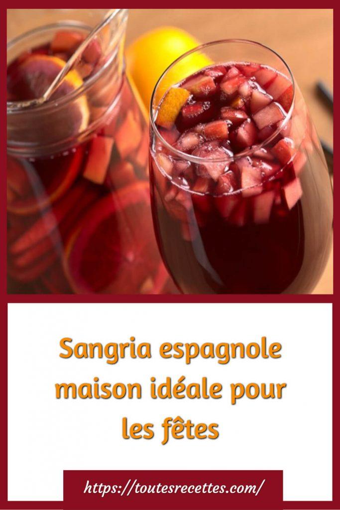 Comment préparer la Sangria espagnole maison