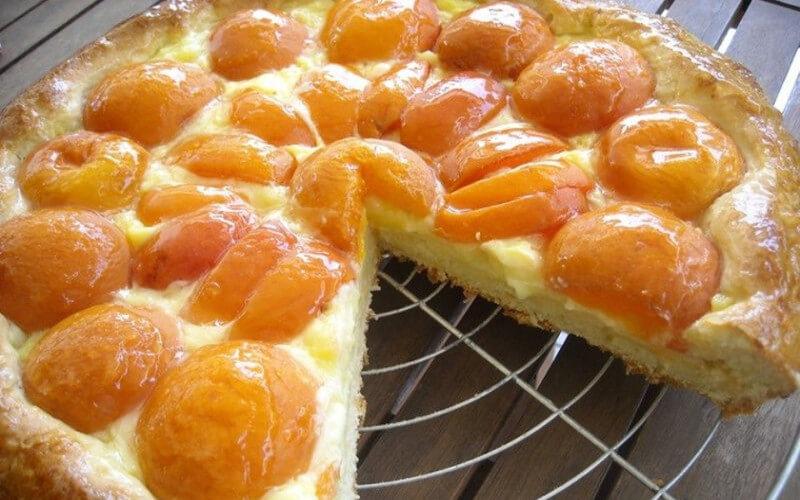 Tarte aux Abricots version alsacienne