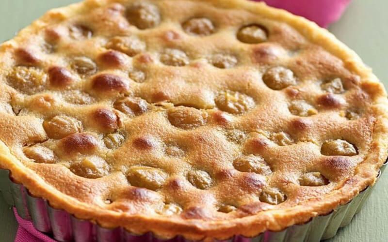 Tarte aux mirabelles à la crème d'amandes