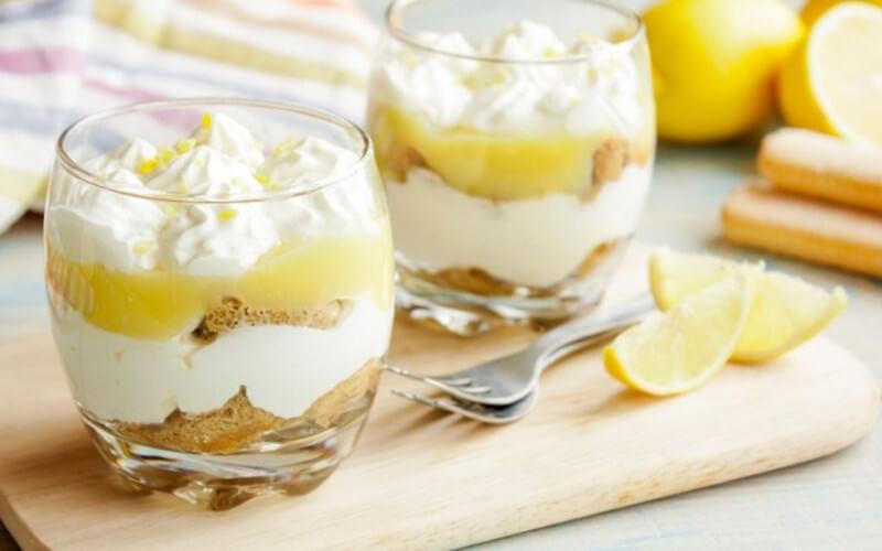 Tiramisu au citron et lemon curd saveur légère et fraîche