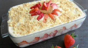 Tiramisu fraises et chocolat blanc Ce dessert est une tuerie