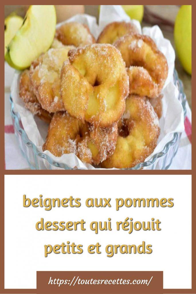 Comment préparer les beignets aux pommes