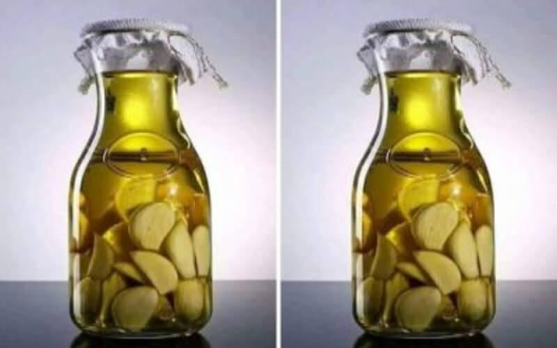 l'ail dans l'huile d'olive est un antibiotique puissant