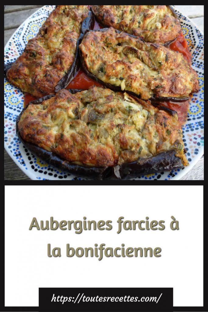 Comment préparer les Aubergines farcies à la bonifacienne (I mirizani)